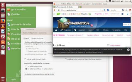 Menús en la barra de cada aplicación en Ubuntu 14.04 LTS