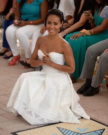 ¡Quiero el vestido blanco de Jada Pinkett Smith!