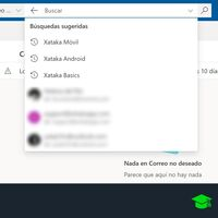 Cómo borrar el historial de las búsquedas sugeridas de Outlook y la app Mail de Windows