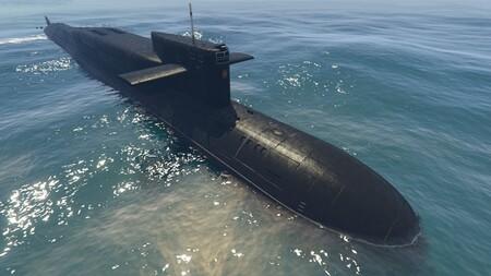 Los jugadores de GTA Online averiguan una aparatosa forma de sacar del agua el submarino utilizando un helicóptero y un tanque