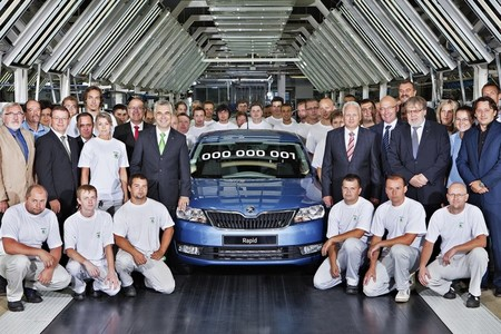 Ya se fabrica el Škoda Rapid en serie