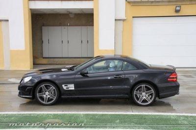 Mercedes SL 63 AMG, toma de contacto en el Circuito Monteblanco