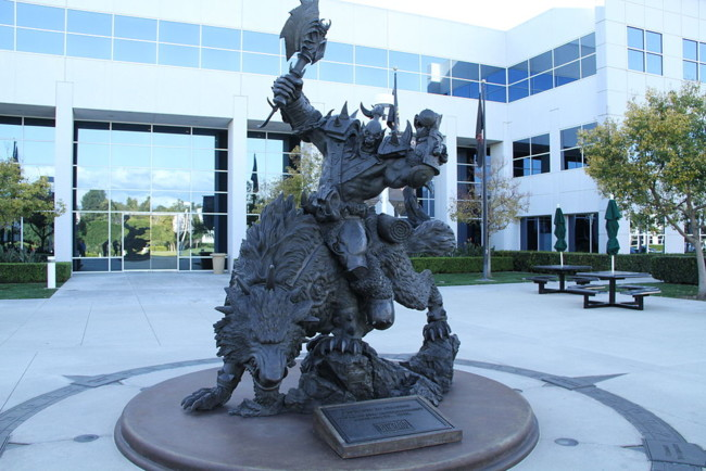 Blizzard Entertainment Hq Statue