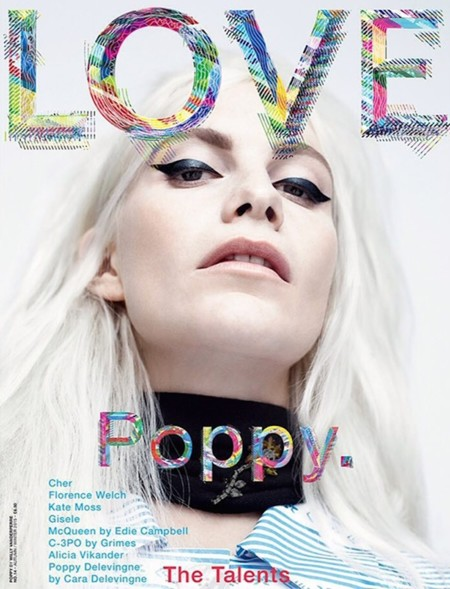 Poppy Delevingne Love Magazine Cover