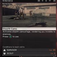 Guía Metal Gear Survive: cómo desbloquear nuevas clases y conseguir el camuflaje óptico