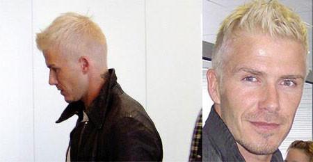 Beckham vuelve a cambiar de look