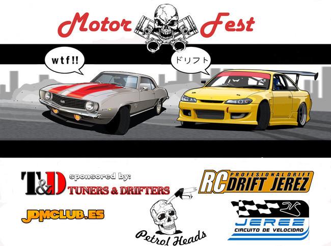 Cartel Motor Fest Jerez