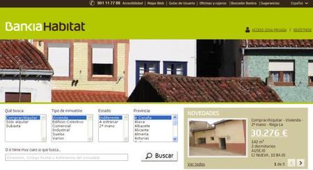 Bankia Habitat, un portal para comprar inmuebles a bajo precio