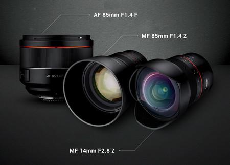 Samyang Af 85mm F14 14mm F28 Mf 85mm F14 Z 02