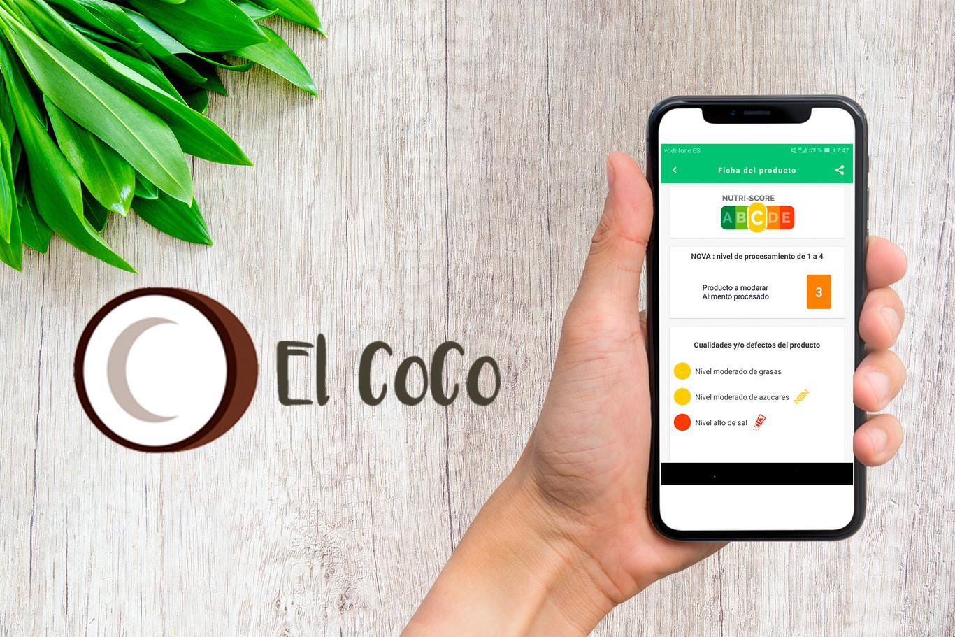El CoCo: una app móvil que te ayuda a elegir los mejores alimentos en el supermercado