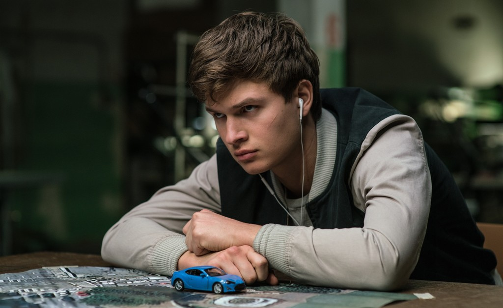 Baby Driver Baby Ansel Elgort With Map