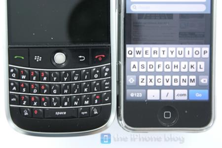 Rivales para el iPhone: guerra de teclados