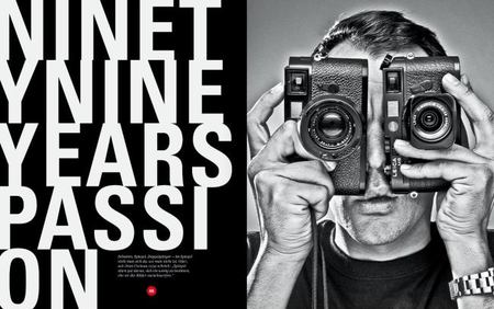 Ninety Nine Years Leica, libro de edición limitada. El regalo perfecto para fotógrafos