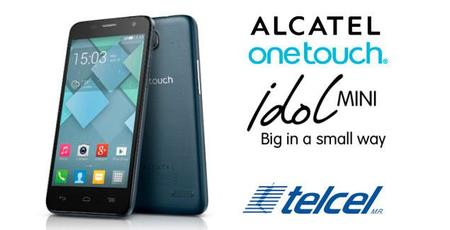 Alcatel One Touch Idol Mini ahora disponible con Telcel