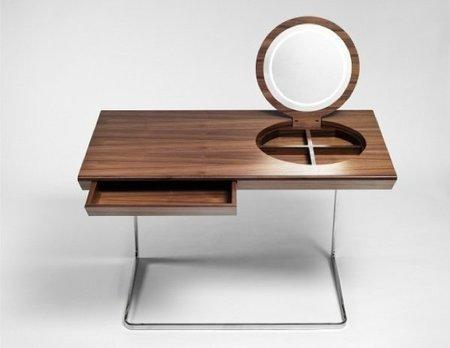 mesa espejo abierta