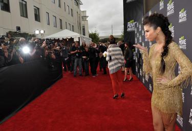 MTV Movie Awards 2013, las mejor vestidas de una noche para las jóvenes estrellas