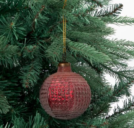 Bola En Relieve Bicolor Navidad El Corte Ingles