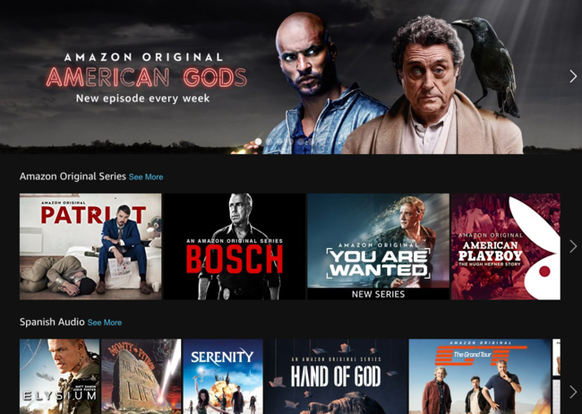 Amazon Prime Video pulveriza el récord de descargas de una aplicación en tvOS