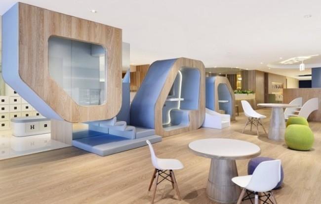 SPRING by Joey Ho Design, un espacio decorado para niños, que huye de los tópicos