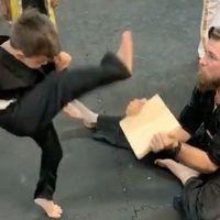 El vídeo viral del niño karateca que es toda una lección de vida