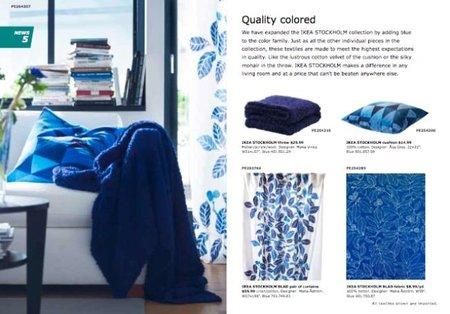 Los nuevos textiles del catálogo de Ikea 2011.