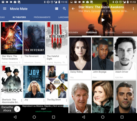 Movie Mate, una app muy completa para gestionar las películas que vemos y descubrir nuevas