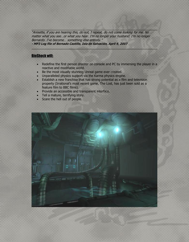 Foto de 'BioShock', documentos originales (5/9)