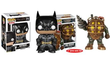 Funko presenta sus figuras de Bioshock y Batman: Arkham Knight