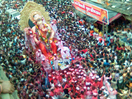 Desfile Ganesha