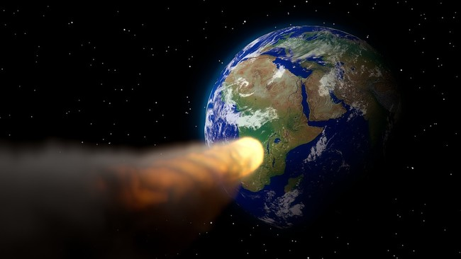 Earth Blender Armageddon 3d Asteroid Apocalypse 2104385