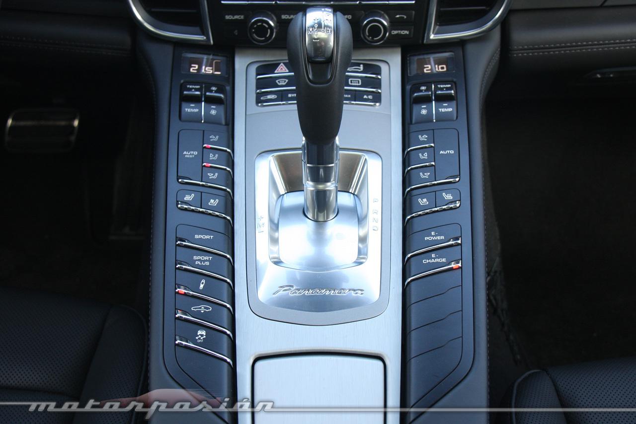Foto de Porsche Panamera S E-Hybrid (prueba) (31/64)