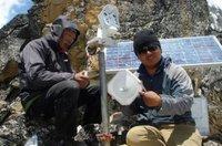 Observando el monte Everest con la cámara más alta del mundo