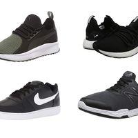 Ofertas en tallas sueltas de zapatillas Nike, Puma y New Balance disponibles en Amazon desde 27 euros