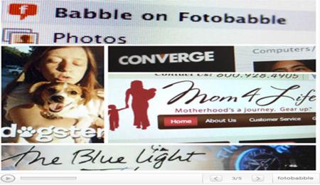 Añade voz a tus fotos con Fotobabble
