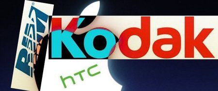Kodak demanda a HTC, Apple y RIM