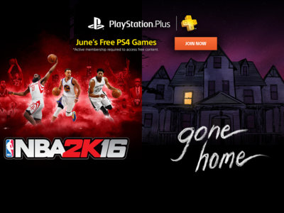NBA 2K16 y Gone Home son la propuesta de PlayStation Plus para PS4 de cara al mes de Junio