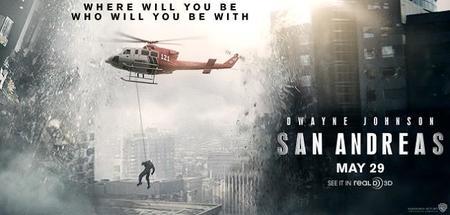 'San Andrés', tráiler y primer cartel del terremoto en 3D con Dwayne Johnson