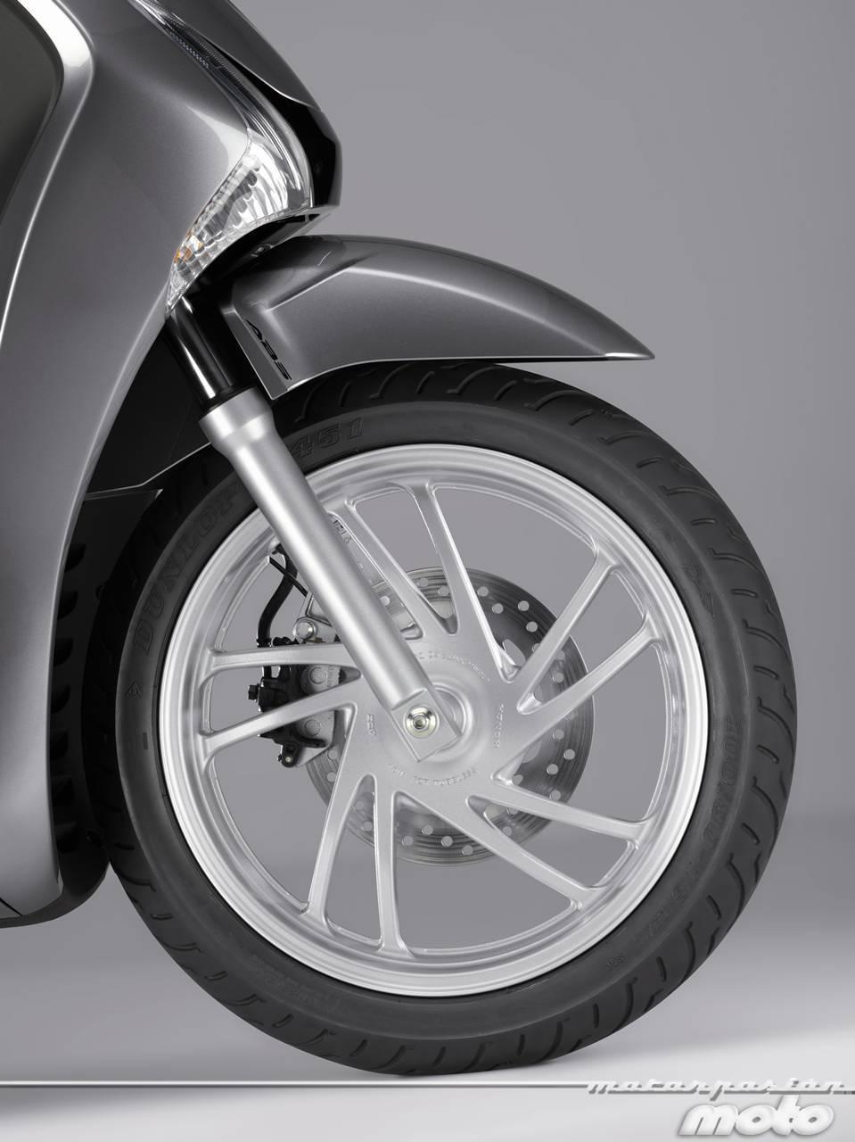 Foto de Honda Scoopy SH125i 2013, prueba (valoración, galería y ficha técnica)  - Fotos Detalles (47/81)