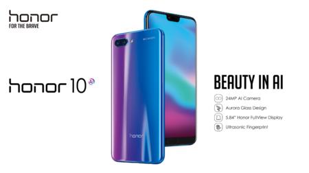 Huawei Honor 10 de 64GB por 369 euros en España con este cupón