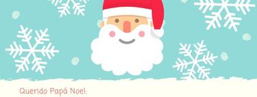 Carta para Papá Noel: siete modelos originales para imprimir gratis y rellenar
