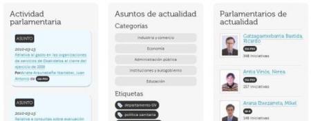 Parlio.org, la política vasca accesible