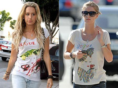 El nuevo must de las celebrities: camiseta Vogue vintage