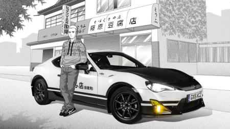 Vivirás en un Manga con este Toyota GT86 con el que la marca rinde homenaje a Initial D