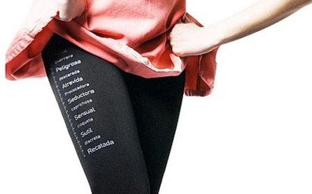 Unos leggings que miden tu grado de atrevimiento