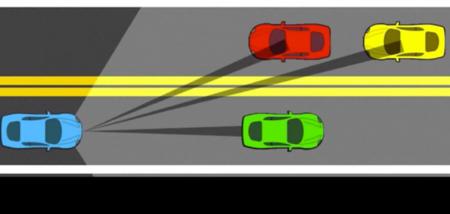 Estas luces iluminan la carretera y señales pero no los ojos de otros conductores
