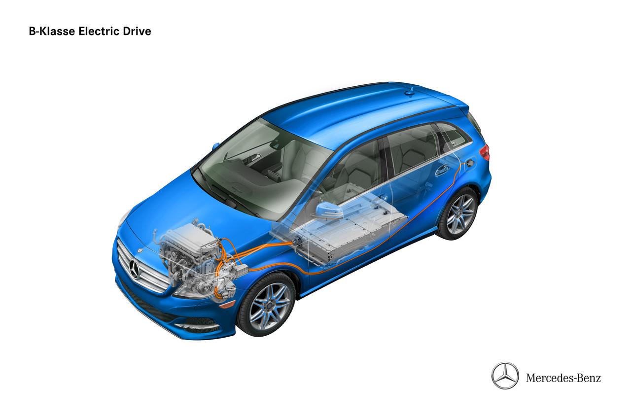 Foto de Mercedes Clase B Electric Drive (5/26)
