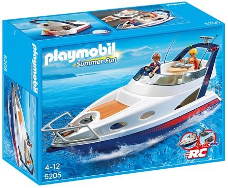 Yate de lujo de Playmobil con un 33% de descuento en Amazon