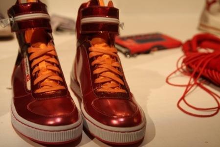 Diesel, colección Otoño-Invierno 2010/2011 en el Bread and Butter en Berlín, sneakers