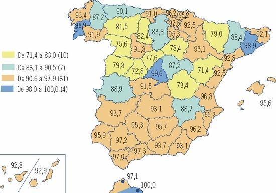 Mapa cobertura 3G