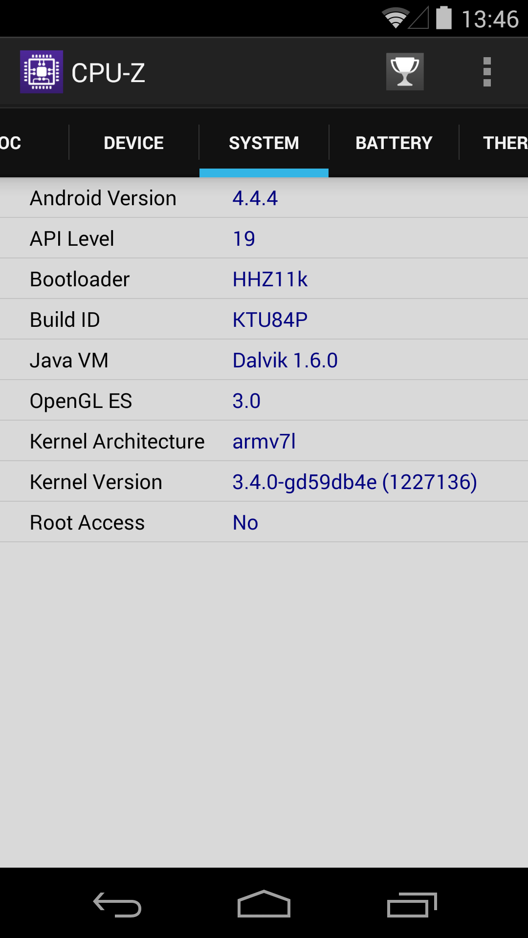 Foto de Benchmarks Nexus 5 Android 4.4.4 (36/37)